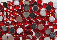 Acrylic Flatback Rhinestones size SS40 (8.5mm) red