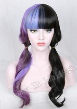 Melanie Martinez Wig Two Tone Ombre Wig Halloween Cosplay Wave Long Wig