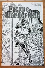 Escape From Wonderland Script Book #1 and #0 NM+ Gem Wraparound Cover
