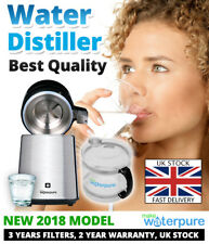 ** Water Distiller NEW 2018 Model ** FREE Next Day Delivery** 3YRS FILTERS FREE