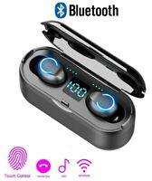 Bluetooth 5.0 TWS Wireless Earbuds Earphones Stereo Headphone Noise Cancel IPX7