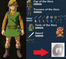Zelda Breath Of The Wild 8Bit Link Amiibo Nfc Tag Switch Wii U NO CARD