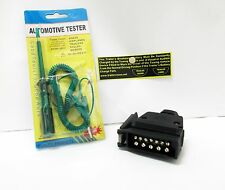 AutoMotive Tester 6,12,24 Volt & 12 pin Trailer Plug Trailer Vision