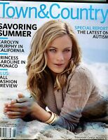 Town & Country Magazine August 2006 Carolyn Murphy EX No ML 021517jhe
