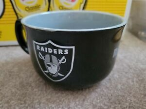 Oakland raiders football NFL 32 Oz Bowl Mug NEW