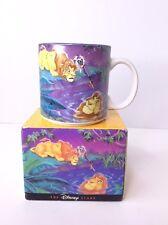 Vintage Disney Store Exclusive Simba Mufasa Lion King Reflections Mug With Box