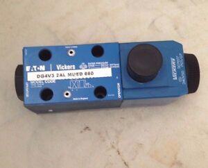 EATON VICKERS HYDRAULIC VALVES - DG4V3 2AL MUED 660