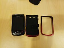 Blackberry Torch -- Unknown GB - Black - MN 9800  - Sold as is PARTS or REPAIR