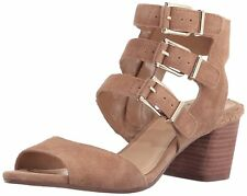 4e1f6f1eff92c1 Vince Camuto Women s Geriann Side Zip Open Toe Dress Sandals Prairie Sand
