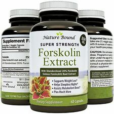 Pure Forskolin Extract - Weight Loss Supplement for Burning Belly Fat Naturally