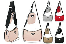 Women's Designer Style  2-in-1 Crossbody Bag Ladies Messenger Shoulder Handbag
