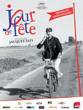 Affiche Pliée 120x160cm JOUR DE FÊTE 1949 Jacques Tati - Paul Frankeur R2013 TB