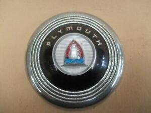 Horn button, Plymouth, 1946-48, special deluxe, original