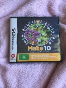 Nintendo Ds Game Make 10 By DS