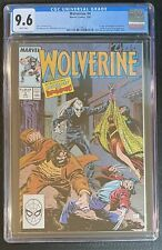 Wolverine #4 CGC 9.6 W 1989 1st Appearance Bloodsport & Roughouse