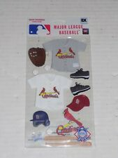 New in Package MLB Scrapbooking Sticker Set St. Louis Cardinals