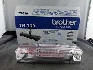 Genuine Brother Standard Yield Black Toner Cartridge (TN-730) - NOB