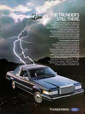 Print.  1981 Ford Thunderbird Auto Advertisement