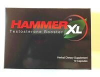 Hammer XL Herbal Testosterone Booster Male Enhancement Pill - 10 Capsules
