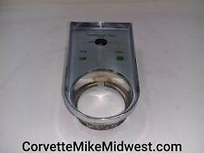 Chevrolet Corvette 1958-1962 heater controls and clock center console bezel