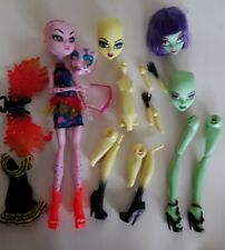 Create a monster Packs B MONSTER HIGH doll excellent used condition