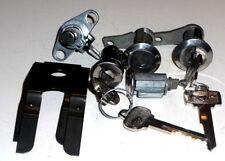 1965 1966 Mustang door locks ignition trunk and glovebox lock set PONY KEYS 525