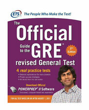 The Official Guide To The GRE Revised General Test 2nd Edition With CD