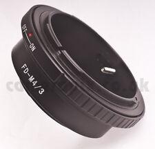Canon fd lens à micro 4/3 m4 / 3 quatre tiers adaptateur mount ring Panasonic Olympus