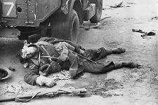 WW2 - Belgique 1940 - Soldat britannique tué pendant les combats
