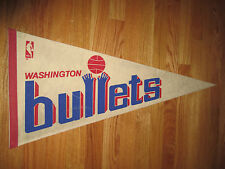 "Vintage 70s Washington Bullets 30"" Pennant"