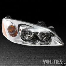 2006-2010 Pontiac G6 Headlight Lamp Clear lens Halogen Passenger Right Side