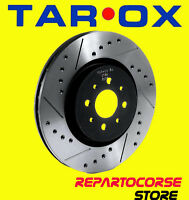 DISCHI SPORTIVI TAROX  + PASTIGLIE Sport Japan FIAT 500 1.1 SPORTING - anteriori