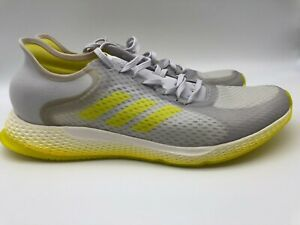 Adidas EG1096 Focus Breathein Running Shoes Grey Yellow White Size 11 Womens