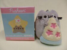 Gund NEW Pusheen Blind Box PURPLE RAPTOR Dinosaur Mini Plush Cat Series 9