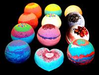 Bath Bombs - 4 Pack 4.5 ounce BATH BOMB - You Choose- Lush Organic Fizzies