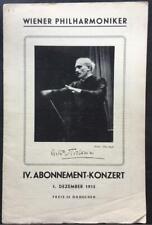 Arturo Toscanini, Vienna Philharmonic, Programme, Castelnuovo-Tedesco, 1935