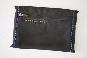 Waterfield Designs SF Bags Black Ballistic Nylon Small Zippered Pouch Bag
