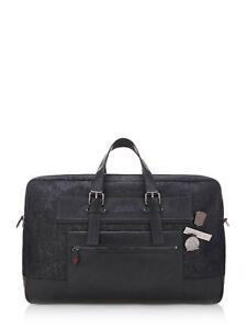 GUESS Men's Black American Travel Bag Extra Large Weekender Handbag NEW RRP £180