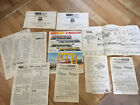 Job lot of Instruction Sheets Triang .meccano  .service. dealers .wiring Etc
