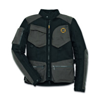 New Spidi Ducati Scrambler Urban Raid Jacket Men's Medium Black/Grey #981036804