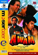 AWAM (1987) RAJESH KHANNA, POONAM DHILLON ~ BOLLYWOOD HINDI DVD