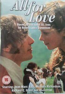 All For Love DVD Tim Dutton, Anna Friel, Richard E. Grant IRISH DRAMA Movie