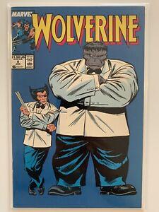 Wolverine #8 Patch & Joe Fixit Grey Hulk classic cover Newsstand high grade 9.0