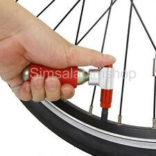 1x Aluminium CO2 Bicycle Bike Threaded Cartridge Tire Pump Tyre Inflator