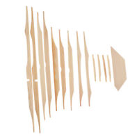 12pcs Guitar Tool Spruce Bracewood Kit for Acoustic Guitar Parts