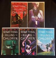 SOMETHING IS KILLING THE CHILDREN (2020) #11 (A AND B COVERS), #12, #13 AND #15!