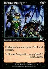 ▼▲▼4x Force sinistre (Sinister Strength) PLANESHIFT #54 FRENCH MTG Magic