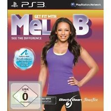 Sony ps 3 ps3 jeu Get fit with MEL B MOVE compatible NEUF