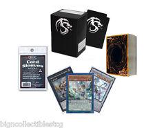 *60* YuGiOh! Cards Pack with Pendulum, XYZ & Synchro + Rares + Deck Box, Sleeves
