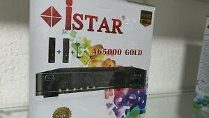 A65000 Gold Istar Reciever Mit 12 Monate online TV